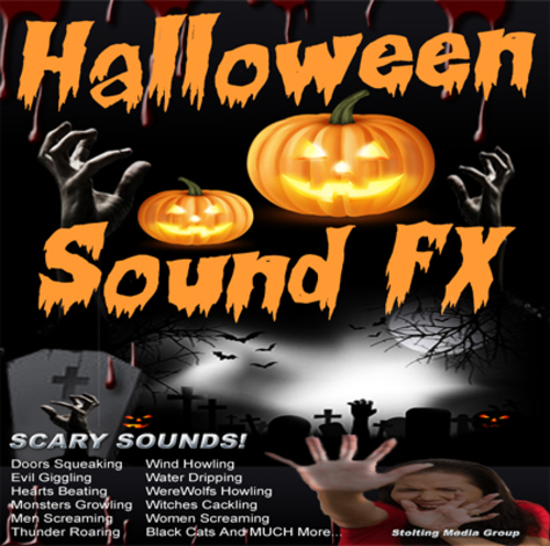 Product picture HALLOWEEN Sound Effects MEGA Bundle V1 - MP3