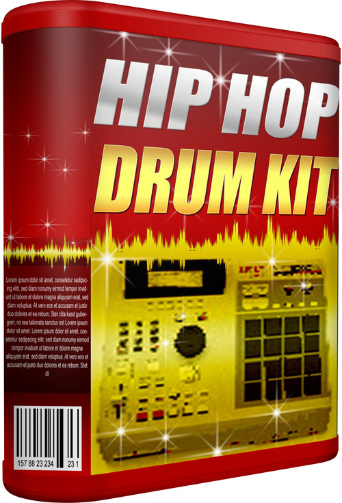 Product picture HIP-HOP-DRUM-KIT - INSTANT DOWNLOAD